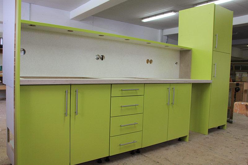 Einbau-Küchenzeile