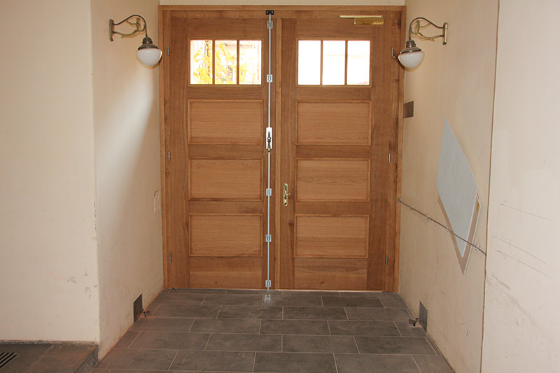 Haustür Zweiflügelig Und Einflügelig