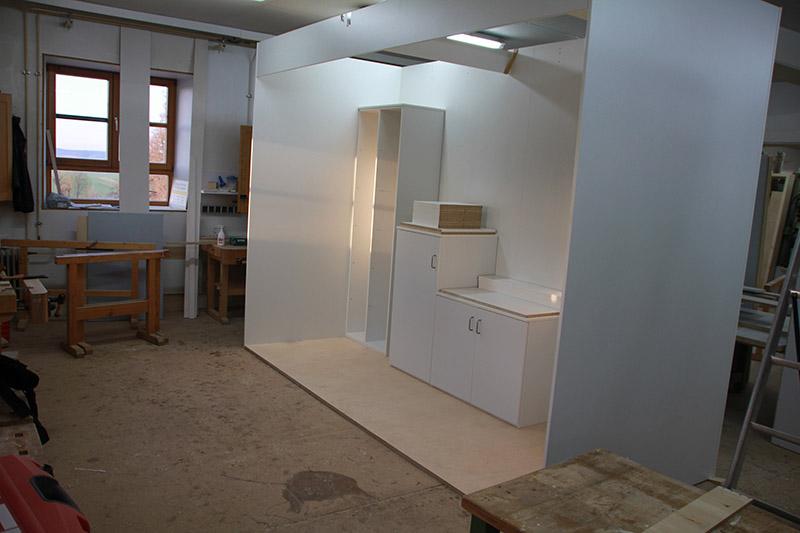 Raum In Raum Lösung Einbauküche Referenzen Möbelschreinerei Bauer