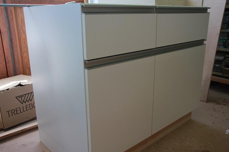 Küchenunterbau-Schrank Weiß